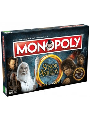 Monopoly El Señor de los Anillos Castellano