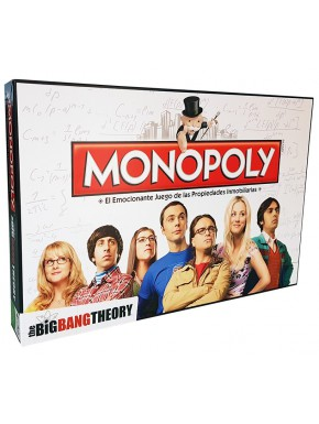Monopoly Big Bang Theory Ed. Castellano