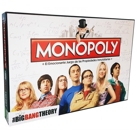 Monopoly Big Bang Theory Ed. Castellano
