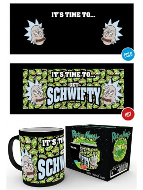 Taza Térmica Rick y Morty Get Schwifty