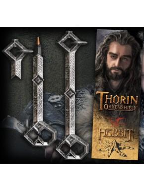 Bolígrafo y marcápaginas llave Thorin