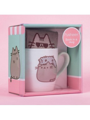 Pack de Regalo Calcetines + Taza Pusheen & Stormy