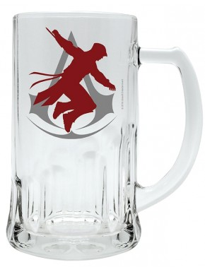 Jarra de Cerveza Assassin's Creed Silueta