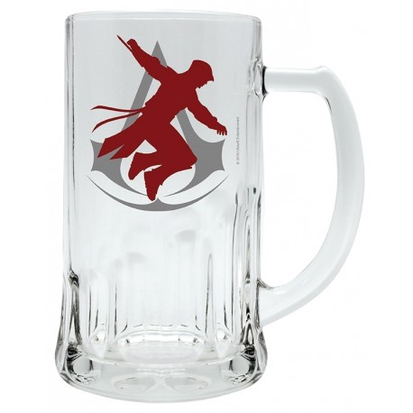 Jarra de Cerveza Assassin's Creed Silueta