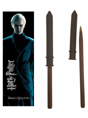 Set bolígrafo y marcapáginas Draco Malfoy Harry Potter