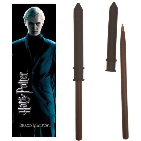 Set bolígrafo y marcapáginas Draco Malfoy Harry Potter