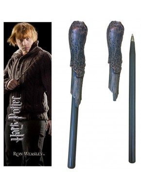 Set bolígrafo y marcapáginas Ron Weasley Harry Potter