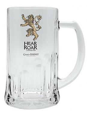 Jarra Cerveza cristal Lannister Juego de Tronos
