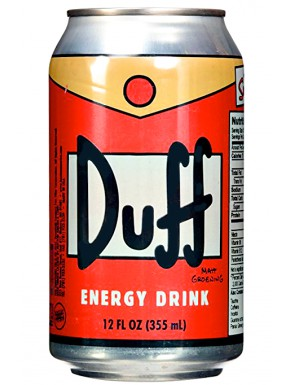 Bebida energética Duff The Simpsons