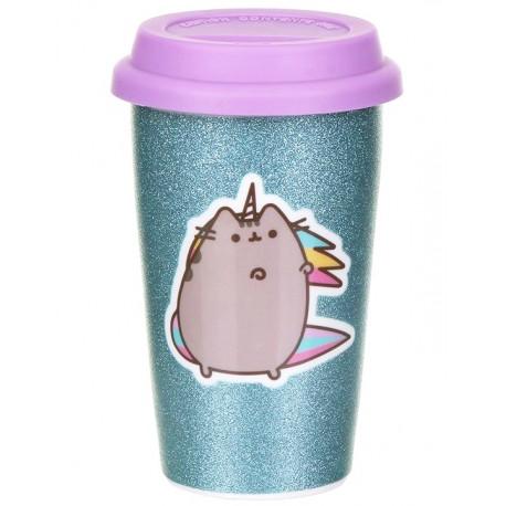 Taza de viaje Porcelana Pusheen Unicorn