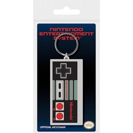 Llavero caucho Nintendo mando NES