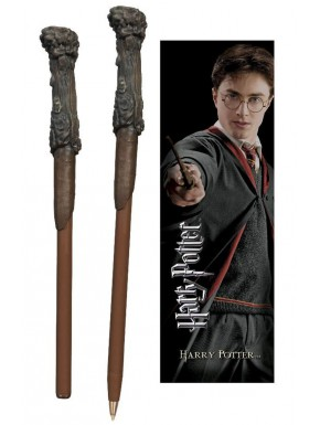 Set Harry Potter bolígrafo varita y Marcapáginas
