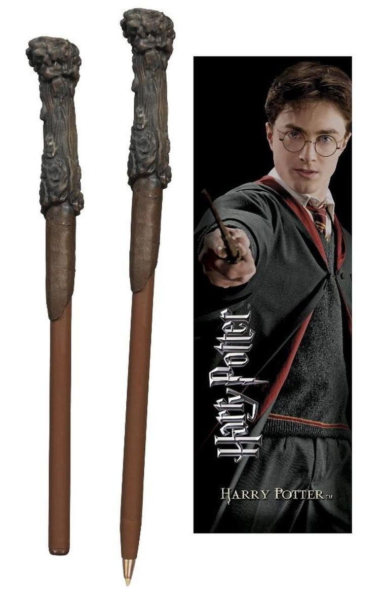 Harry Potter Boligrafo Y Marca Paginas Solo 11 50 Lafrikileria Com