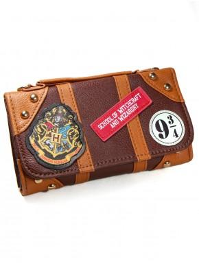 Cartera billetera vintage Hogwarts