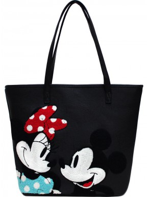 Bolso Loungefly Minnie y Mickey Mouse