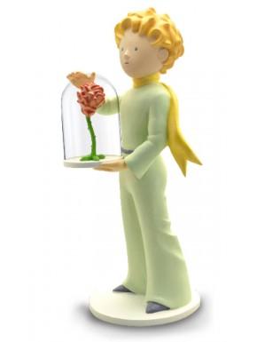 Figura El Principito con su Rosa 21 cm