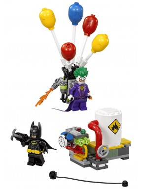 Kit LEGO Batman y Joker Globos de Fuga