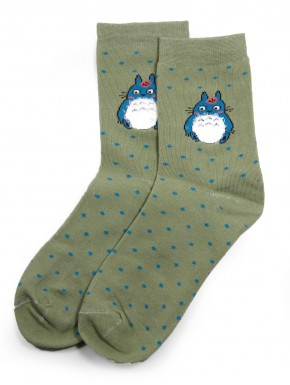Calcetines Ghibli Totoro pale green