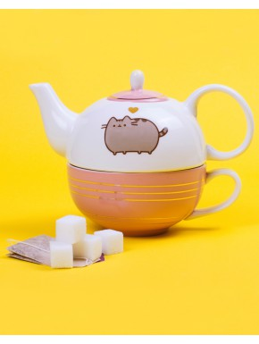Set Tetera y Taza Pusheen Cat