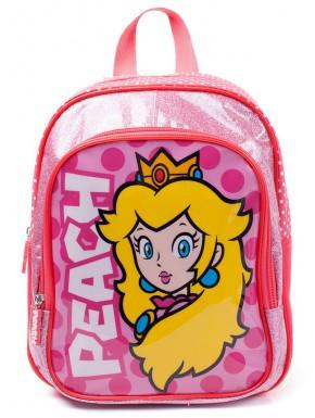 Mochila Infantil Princesa Peach Super Mario