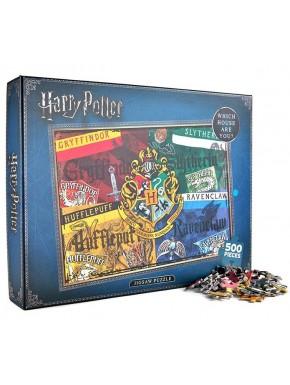 Puzzle Harry Potter Houses 500 Piezas