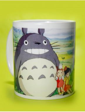 Taza Totoro landscape
