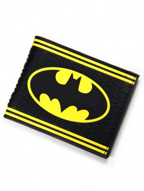 Cartera caucho Batman black and yellow
