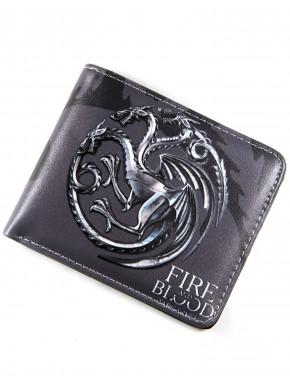Cartera Juego de Tronos Targaryen crest
