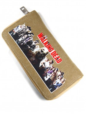Cartera cremallera The Walking Dead