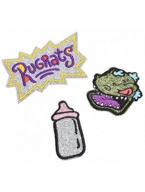 Set 3 Parches Bordados Rugrats by Danielle Nicole