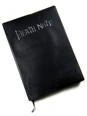 Death Note replica libreta