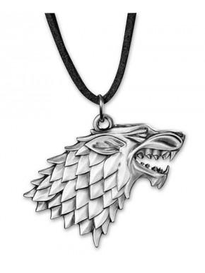 Colgante con collar Stark Juego de Tronos