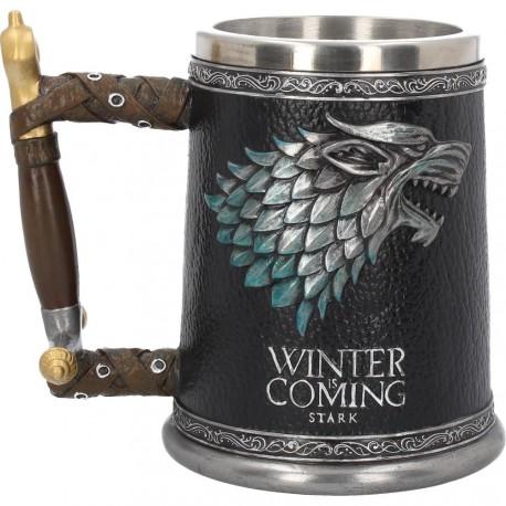 Jarra Deluxe Juego de Tronos Winter is Coming