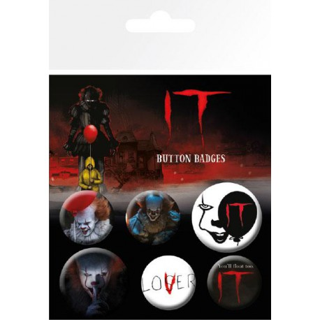 Pack Chapas Pennywise It