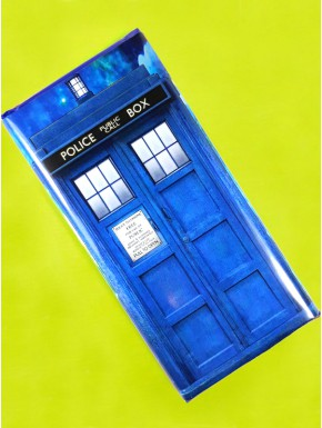 Chocolate Tardis Doctor Who