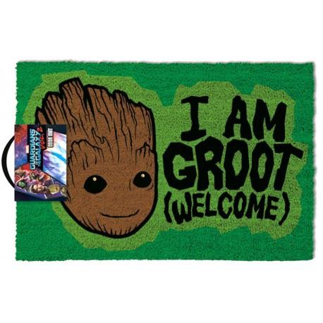 Felpudo coco Guardianes de la Galaxia I Am Groot