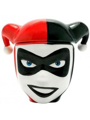 Taza 3D Harley Quinn Busto
