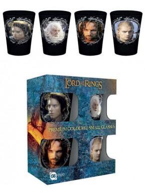 Set vasos de chupito El Señor de los Anillos Characters