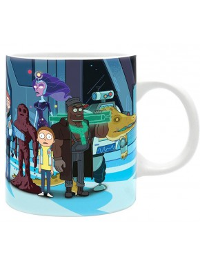 Taza Rick y Morty Vindicator