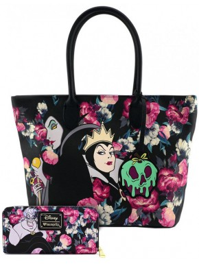 Pack Bolso + Cartera Loungefly Villanas Disney