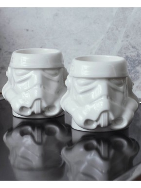Set 2 mini tazas Star Wars Espresso Stormtrooper