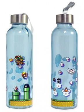 Botella de cristal Súper Mario Retro 480 ml