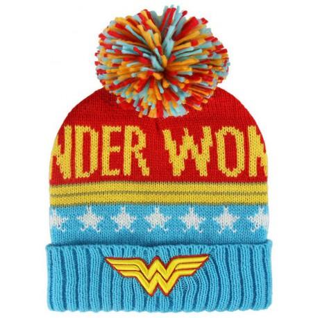 Gorro con bola Wonder Woman DC