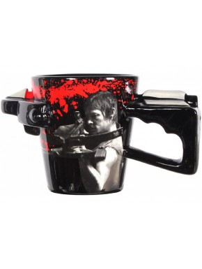 Taza Walking Dead Daryl Ballesta 3D