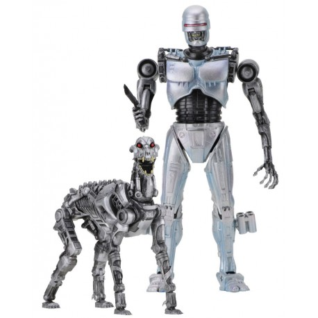 Set 2 figuras EndoCop & Terminator Dog RoboCop vs The Terminator Neca