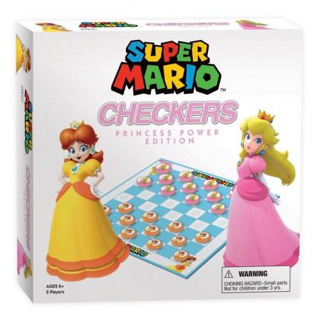 Juego de Damas Super Mario Bros Princess Power