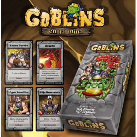 Juego de cartas Goblins en la Mina
