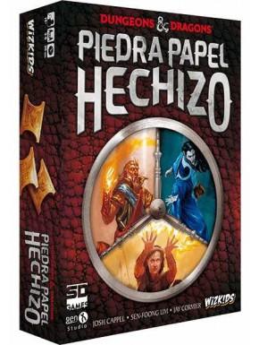 Juego de mesa Dungeons and Dragons Piedra, Papel, Hechizo