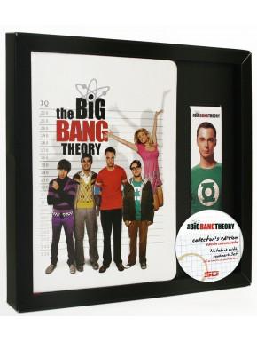 Set cuaderno y marcapáginas Big Bang Theory