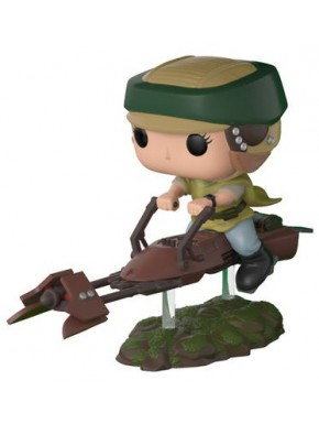Funko Pop! Leia Speeder Bike Star Wars Ed. Limitada